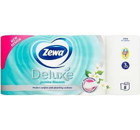 Wc toaletní papír ZEWA Deluxe Aqua Tube Jasmine 3V 8ks - Ostatní