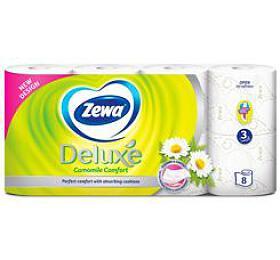 Wc toaletní papír ZEWA Deluxe Aqua Tube Camomile3V 8ks - Ostatní