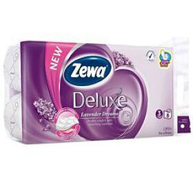 Wc toaletní papír ZEWA Deluxe Aqua Tube Lavende 3V 8ks - Ostatní