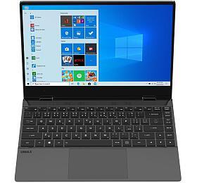 Notebook UMAX PC VisionBook 14Wg Flex, šedý (UMM220V14) - Umax