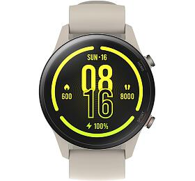 Chytré hodinky Xiaomi Mi Watch, béžové (30258) - Xiaomi