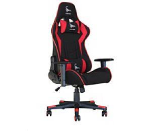 GEMBIRD Gaming chair / herní křeslo SCORPION 01, černá/červená, sítovina (GC-SCORPION-01) - Gembird