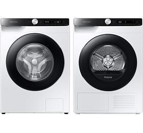SET Pračka Samsung WW 90T534DAE/S7 + Sušička Samsung DV90T5240AE/S7 - Samsung