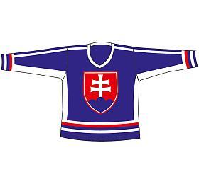 Hokej.dres SR 5 modrý L RULYT - Rulyt