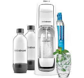SET Výrobník sody Sodastream JET WHITE + Lahev DuoPack 1l - SodaStream