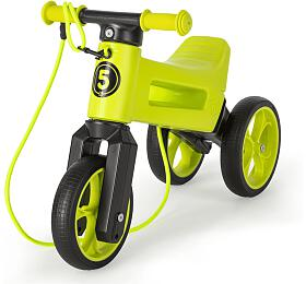 Odrážedlo Funny Wheels Rider SuperSport 2v1 zelené krabice - Funny Wheels