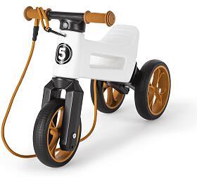 Odrážedlo Funny Wheels Rider SuperSport 2v1 bílé krabice - Funny Wheels