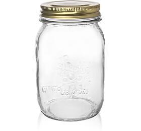 Zavařovací sklenice s víčkem 0,48 l - Orion