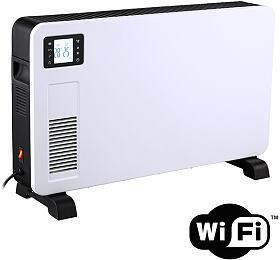 Solight horkovzdušný konvektor 2300W, WiFi, LCD, ventilátor, časovač, nastavitelný termostat - Solight