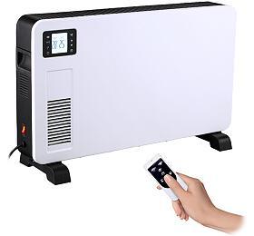 Solight horkovzdušný konvektor 2300W, LCD, ventilátor, časovač, nastavitelný termostat - Solight