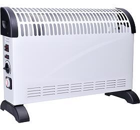 Solight horkovzdušný konvektor 2000W, ventilátor, časovač, nastavitelný termostat - Solight