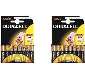 VÝHODNÝ SET 16ks AAA baterií DURACELL - DURACELL