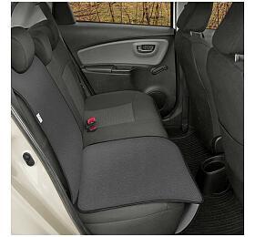 Ochranná podložka pod autosedačku pro přepravu dětí JUNIOR Artificial Leather šedá SIXTOL - Sixtol