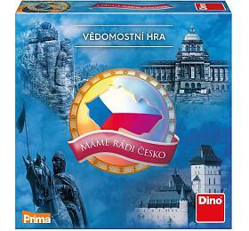 Společenská hra Dino Máme rádi Česko - Dino