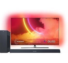 SET UHD OLED TV Philips 55OLED855 + TAB8405 - Philips