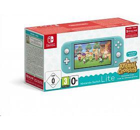 Nintendo Switch Lite Turquoise + ACNH + NSO 3 měsíce (NSH130) - Nintendo