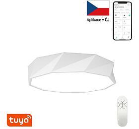 Smart stropní svítidlo Immax NEO DIAMANTE 07131-W60 Zigbee 3.0 60cm 43W, bílé - IMMAX