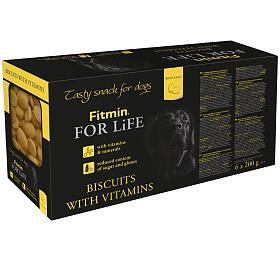 FFL dog biscuits multipack (6x200g) Fitmin - FITMIN