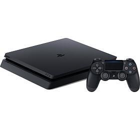 Herní konzole PlayStation 4 500GB slim, černá (PS719407775) - Sony