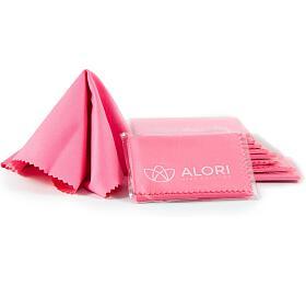 Sada hadříků ALORI z mikrovlákna (10 ks), růžová - Alori