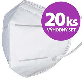 SET 20ks respirátor FFP2/N95 - Certificated