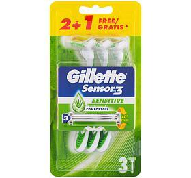 Holicí strojek Gillette Sensor3, 3 ml - Gillette