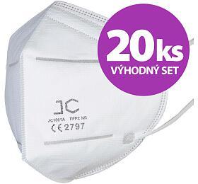 SET 20ks respirátor FFP2 - JC