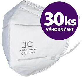 SET 30ks respirátor FFP2 - JC