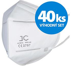 SET 40ks respirátor JC FFP2 - JC