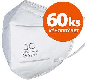 SET 60ks respirátor FFP2 - JC