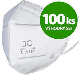 SET 100ks respirátor FFP2 - JC