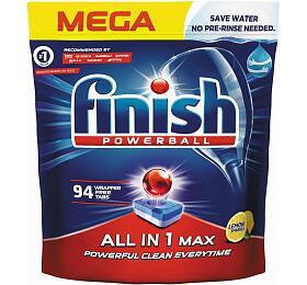 Tablety do myčky Finish AIO MAX LEMON 94 - Finish