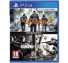 PS4 Rainbow Six Siege + The Division DuoPack - Ubisoft