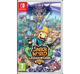 SWITCH Snack World: The Dungeon Crawl - Gold - Nintendo