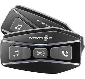 Bluetooth headset pro uzavřené a otevřené přilby Interphone U-COM16, Twin Pack - Interphone