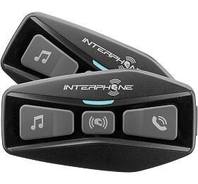 Bluetooth headset pro uzavřené a otevřené přilby Interphone U-COM2, Twin Pack - Interphone