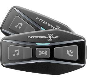 Bluetooth headset pro uzavřené a otevřené přilby Interphone U-COM4, Twin Pack - Interphone