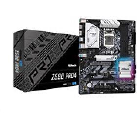 ASRock MB Sc LGA1200 Z590 PRO4, Intel Z590, 4xDDR4, 1xDP, 1xHDMI - ASROCK