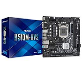 ASRock MB Sc LGA1200 H510M-HVS, Intel H510, 2xDDR4, 1xHDMI, 1xVGA, mATX - ASROCK