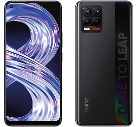 Mobilní telefon Realme 8 DualSIM 6GB/128GB, Cyber Black - REALME
