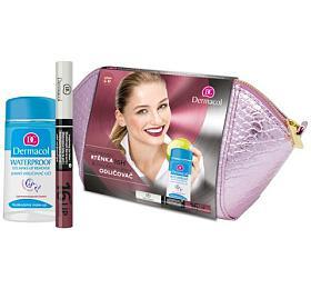 Dárková sada Dlouhotrvající barva na rty 16h Lip Colour + Jemný odličovač očí 120 ml Dermacol - Dermacol