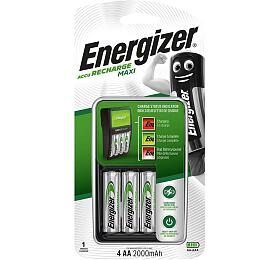 AA/AAA NiMh Nabíječka Baterií 4x AA/HR6 2000 mAh - ENERGIZER