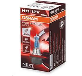 OSRAM autožárovka H11 NIGHT BREAKER® LASER 12V 55W PGJ19-2 (Duo-Box) (64211NL-HCB) - OSRAM