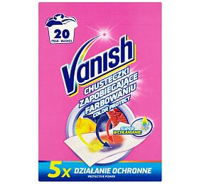 Vanish Color Protect prací ubrousky proti obarvení 20ks - VANISH