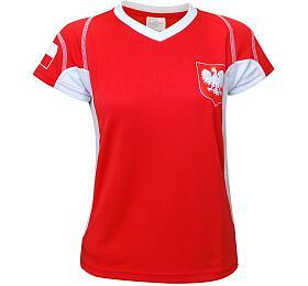 Fotbalový dres Polsko 1 chlapecký 134/140 SportTeam - SportTeam