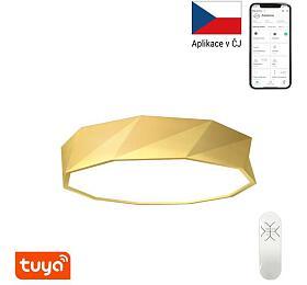 Smart stropní svítidlo Immax NEO DIAMANTE 07132-G60 Zigbee 3.0 60cm W, zlaté - IMMAX