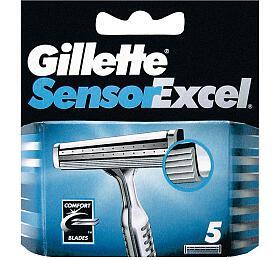 GILLETTE Sensor Excel náhradní hlavice 5 ks - Gillette