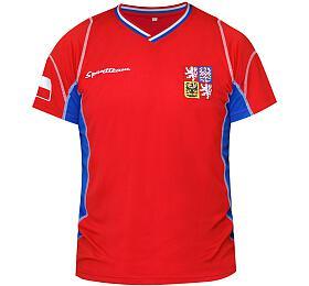 Fotbalový dres ČR 1 SportTeam, chlapecký, vel.158/164 - SportTeam