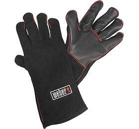 Kožené rukavice na grilování Weber - Weber