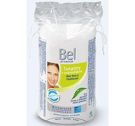 Oválné odličovací tampóny Premium 45 ks Bel - Bel